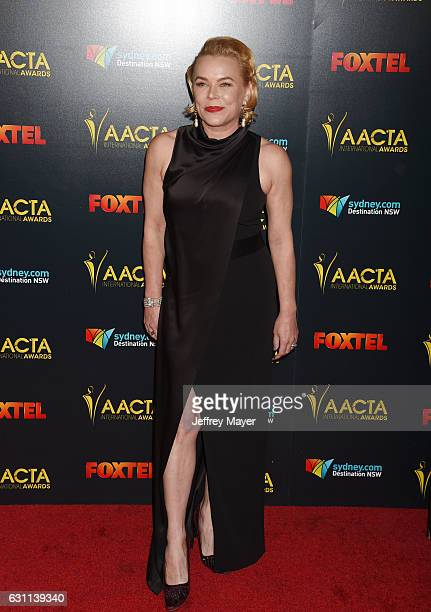 Actress Kym Wilson arrives at the 6th AACTA International Awards at Avalon Hollywood on January 6 2017 in Los Angeles California