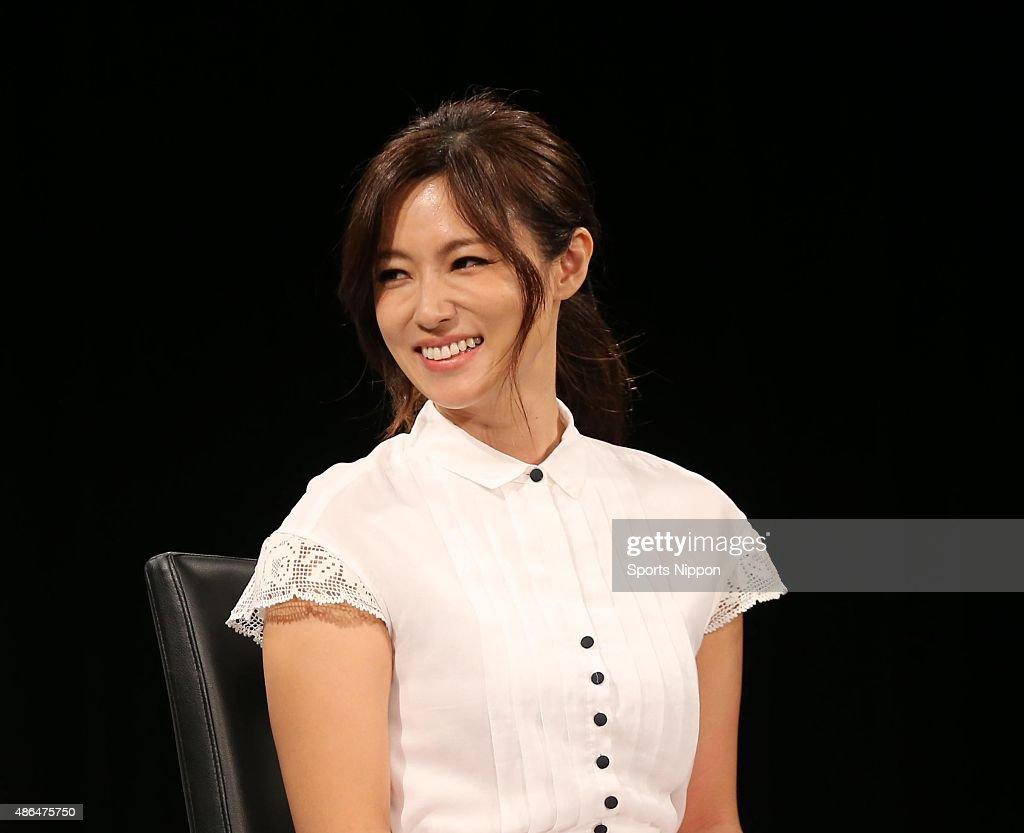 Kyoko Fukada Attends Press Conference In Tokyo : News Photo