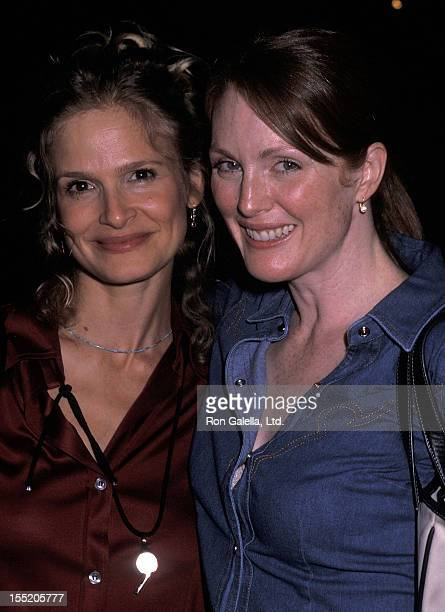Actress Kyra Sedgwick and actress Julianne Moore attend The Planet Impact and Workhouse Publicity Present The 24 Hour Plays Benefit to Honor 9/11...