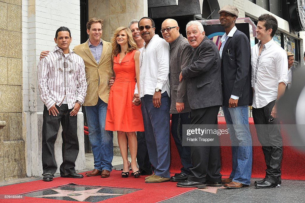 Actress Kyra Sedgwick and cast members from the TV series