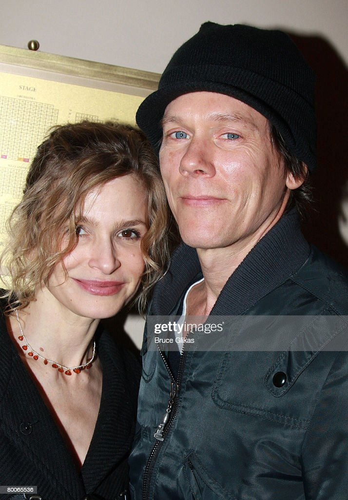 """Kevin Bacon and Kyra Sedgwick Visit """"The Homecoming"""" on Broadway : News Photo"""