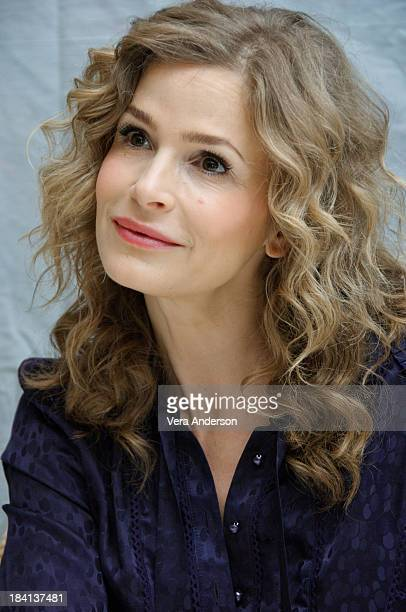 Actress Kyra Sedgwick at The Closer press conference at The Four Seasons Hotel on August 31 2007 in Beverly Hills California