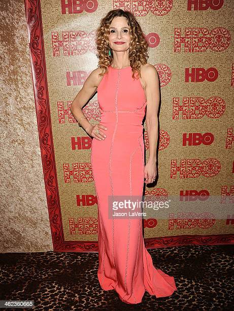 Actress Kyra Sedgwick attends HBO's Golden Globe Awards after party at Circa 55 Restaurant on January 12 2014 in Los Angeles California