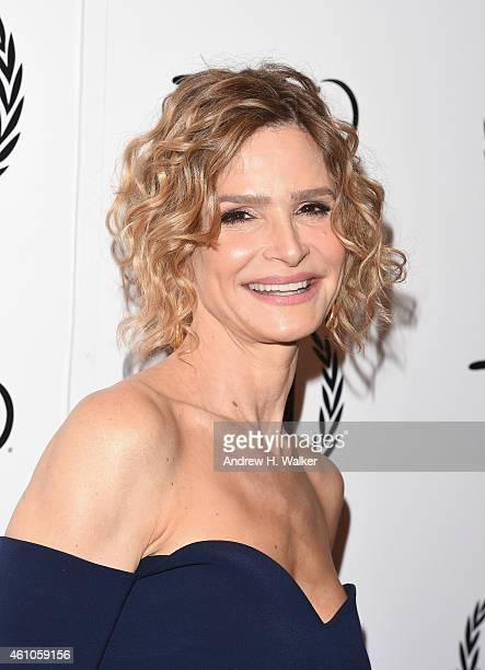 Actress Kyra Sedgwick attends the 2014 New York Film Critics Circle Awards at TAO Downtown on January 5 2015 in New York City