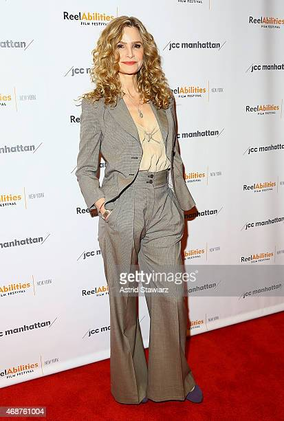 Actress Kyra Sedgwick attends 'The Road Within' New York Premiere at The JCC center on April 6 2015 in New York City