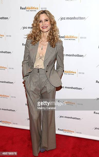 Actress Kyra Sedgwick attends The Road Within New York Premiere at The JCC on April 6 2015 in New York City