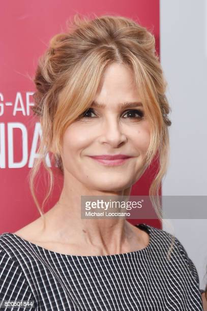 Actress Kyra Sedgwick attends the SAGAFTRA Foundation Conversations 'Story Of A Girl' at SAGAFTRA Foundation Robin Williams Center on July 21 2017 in...