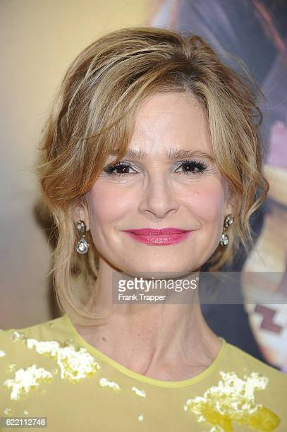 Actress Kyra Sedgwick attends the screening of STX Entertainment's The Edge of Seventeen held at Regal LA Live Stadium 14 on November 9 2016 in Los...