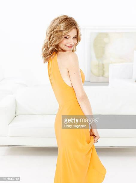 Actress Kyra Sedgwick is photographed for TV Guide Magazine on February 14 2012 in New York City COVER IMAGE