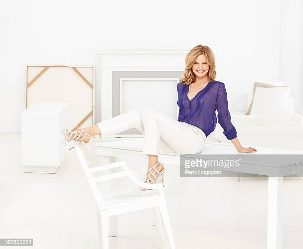 Actress Kyra Sedgwick is photographed for TV Guide Magazine on February 14 2012 in New York City PUBLISHED IMAGE
