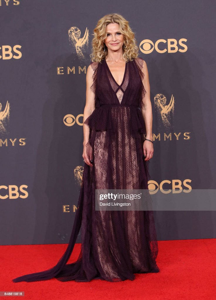 Actress Kyra Sedgwick poses in the press room during the 69th Annual Primetime Emmy Awards at Microsoft Theater on September 17, 2017 in Los Angeles, California.