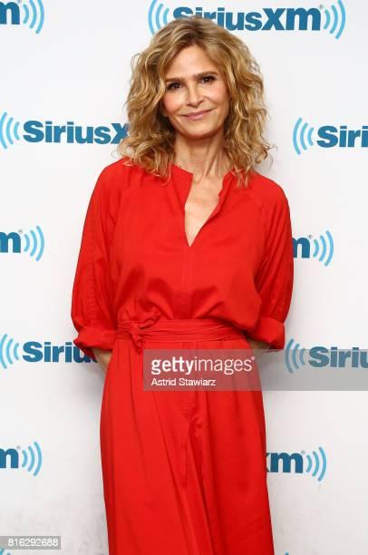 Actress Kyra Sedgwick visits the SiriusXM Studios on July 17 2017 in New York City