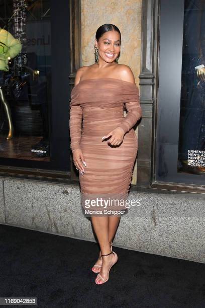 Actress La La Anthony attends as Saks Fifth Avenue and Starz celebrate the final season of Power on August 19 2019 in New York City