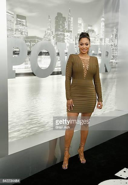 Actress La La Anthony attends STARZ 'Power' New York season three premiere at the SVA Theatre on June 22 2016 in New York City