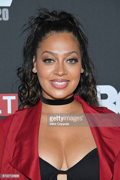 Actress La La Anthony attends the 20th Annual Urbanworld Film Festival 'The New Edition Story' Screening at AMC Empire 25 theater on September 24...