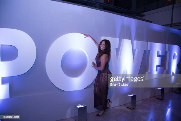 Actress La La Anthony attends the STARZ Power Season Four Premiere at The Newseum on June 8 2017 in Washington DC
