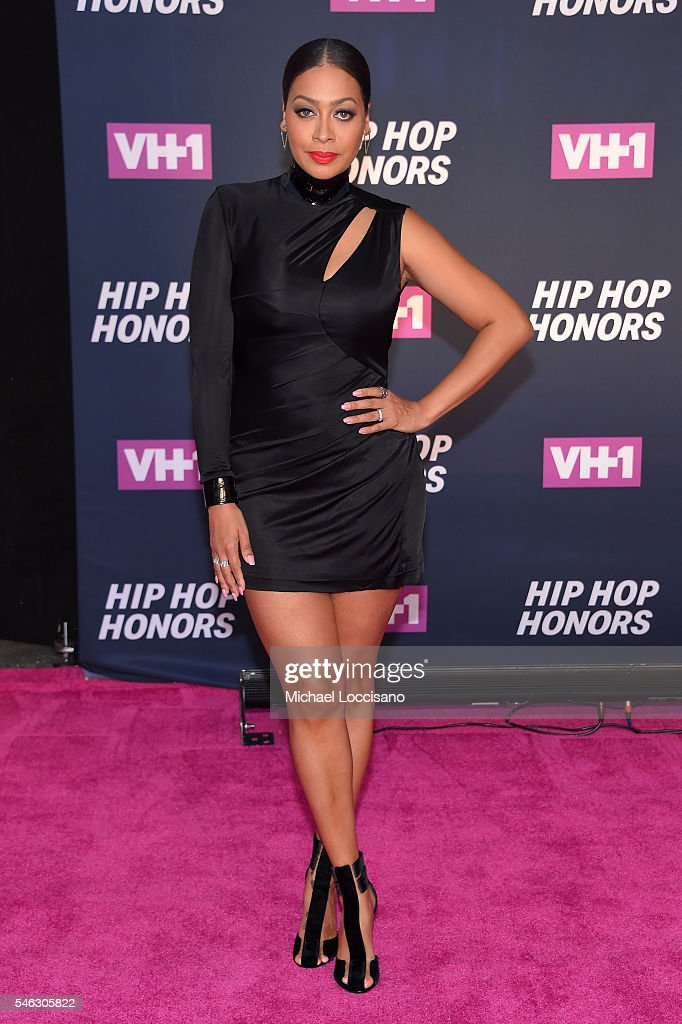 Actress La La Anthony attends the VH1 Hip Hop Honors: All Hail The Queens at David Geffen Hall on July 11, 2016 in New York City.