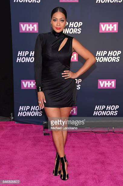 Actress La La Anthony attends the VH1 Hip Hop Honors All Hail The Queens at David Geffen Hall on July 11 2016 in New York City