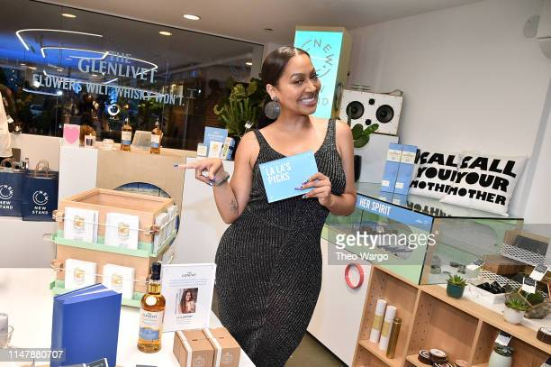 Actress La La Anthony partners with The Glenlivet Drop Shop celebrating Mother's Day at New Stand now open through Sunday May 12 2019 at 306 Bowery...