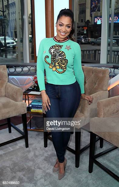 Actress La La Anthony visits Hollywood Today Live at W Hollywood on January 23 2017 in Hollywood California