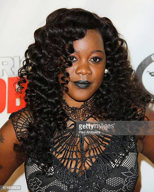 Actress La Porsha Smith attends the premiere of 'American Bad Boy' at TCL Chinese Theatre IMAX on May 26 2015 in Hollywood California