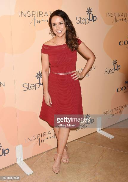 Actress Lacey Chabert arrives at the 14th Annual Inspiration Awards at The Beverly Hilton Hotel on June 2 2017 in Beverly Hills California