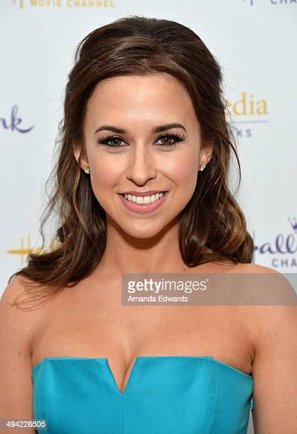 Actress Lacey Chabert arrives at The Color Of Rain premiere screening presented by the Hallmark Movie Channel at The Paley Center for Media on May 28...