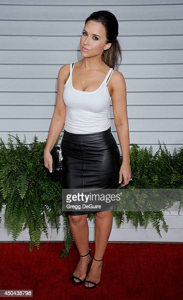 Actress Lacey Chabert arrives at the MAXIM Hot 100 celebration event at Pacific Design Center on June 10, 2014 in West Hollywood, California.