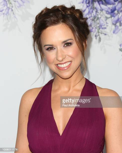 Actress Lacey Chabert attends the 2018 Hallmark Channel Summer TCA at Private Residence on July 26 2018 in Beverly Hills California