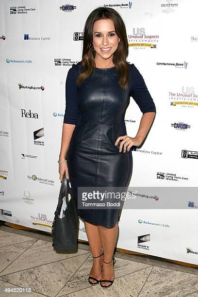 Actress Lacey Chabert attends the Change Together The Unusual Suspects Theatre Co Gala held at Cicada on May 29 2014 in Los Angeles California