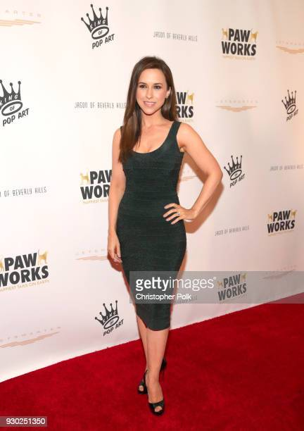 Actress Lacey Chabert attends the James Paw 007 Ties Tails Gala at the Four Seasons Westlake Village on March 10 2018 in Westlake Village California