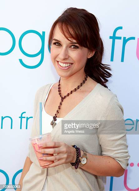Actress Lacey Chabert attends the Kari Feinstein Primetime Emmy Awards Style Lounge Day 1 held at Montage Beverly Hills hotel on August 26 2010 in...