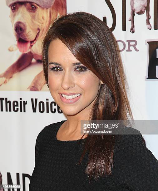 Actress Lacey Chabert attends the Stand Up For Pits Comedy Benefit at The Improv on November 8 2015 in Hollywood California