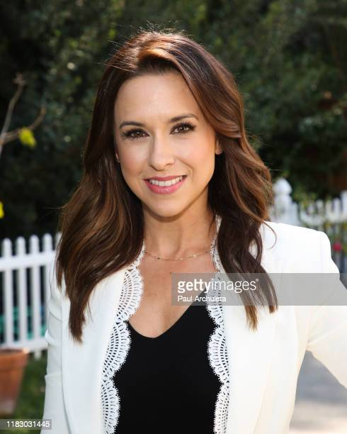 "Actress Lacey Chabert visits Hallmark Channel's ""Home & Family"" at Universal Studios Hollywood on October 23, 2019 in Universal City, California."