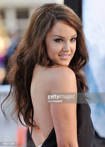 Actress Lacey Schwimmer arrives at the Los Angeles Premiere 'Whiteout' at Mann Village Theatre on September 9 2009 in Westwood California