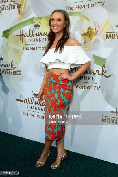 Actress Laci Mailey arrives for the 2017 Summer TCA Tour Hallmark Channel And Hallmark Movies And Mysteries on July 27 2017 in Beverly Hills...