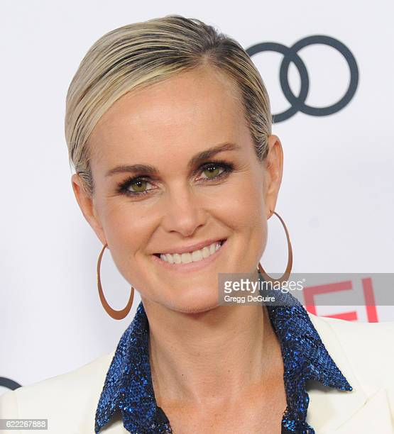 Actress Laeticia Hallyday arrives at AFI FEST 2016 Presented By Audi Opening Night Premiere Of 20th Century Fox's Rules Don't Apply at TCL Chinese...