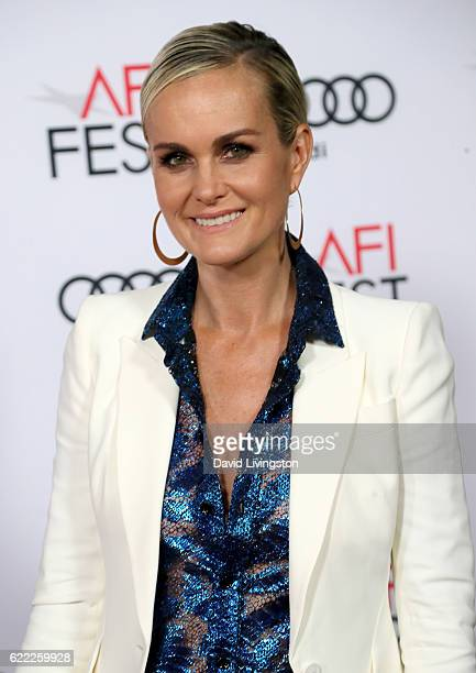 Actress Laeticia Hallyday attends the premiere of Rules Don't Apply at AFI Fest 2016 presented by Audi at TCL Chinese Theatre on November 10 2016 in...