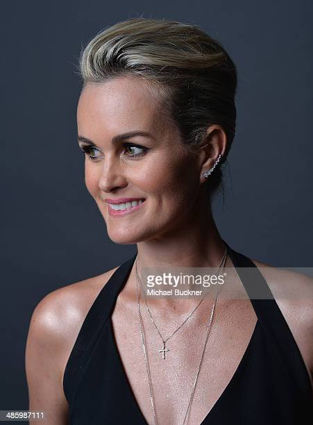 Actress Laeticia Hallyday poses for a portait during the 18th Annual City Of Lights City Of Angels Film Festival at the Directors Guild of America on...
