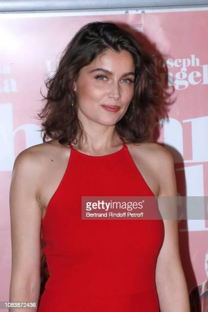 Actress Laetitia Casta attends L'Homme Fidele Paris Premiere at Mk2 Bibliotheque on December 17 2018 in Paris France