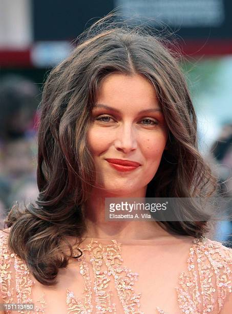 """Actress Laetitia Casta attends """"The Master"""" Premiere during the 69th Venice Film Festival at the Palazzo del Cinema on September 1, 2012 in Venice,..."""