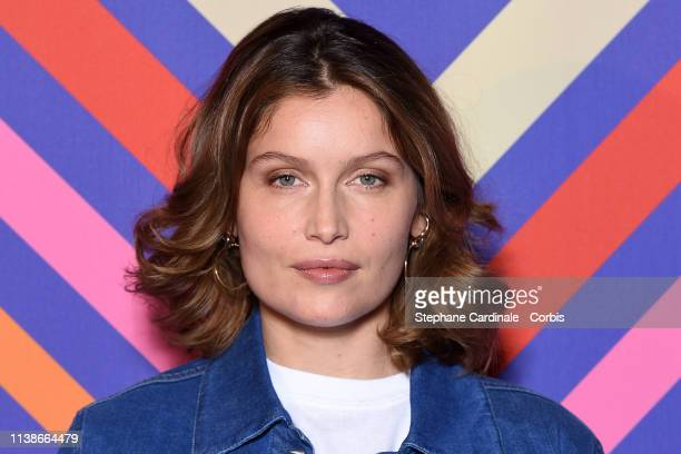 Actress Laetitia Casta attends the Une Ile Photocall during the 2nd Series Mania Festival on March 27 2019 in Lille France