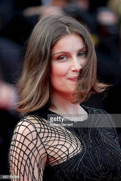 Actress Laetitia Casta attends The Unknown Girl Premiere during the 69th annual Cannes Film Festival at the Palais des Festivals on May 18 2016 in...