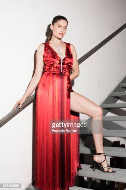 Actress Laetitia Casta is photographed for Gala Croisette on May 2018 in Cannes France