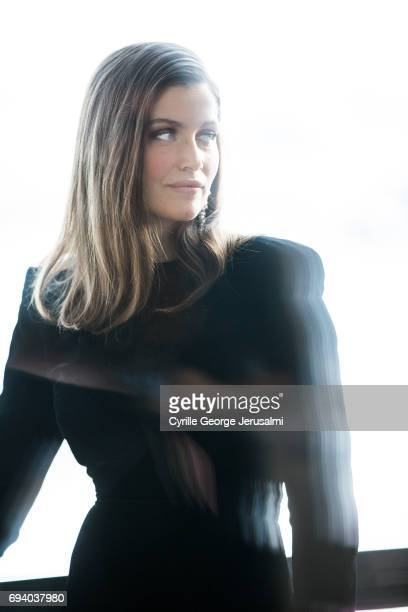 Actress Laetitia Casta is photographed for Self Assignment on May 21 2017 in Cannes France