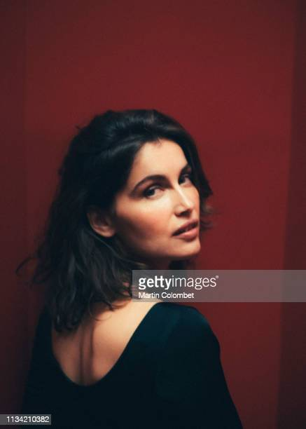Actress Laetitia Casta poses for a portrait on December 18 2018 in Paris France