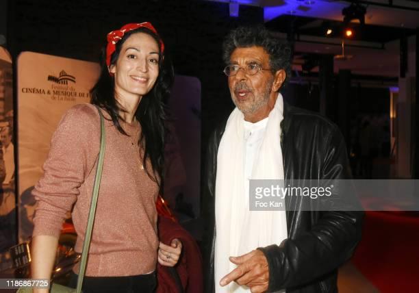 Actress Laetitia Eido and awarded composer Gabriel Yared attend the Awards Ceremony at Palais des Congres of La Baule as part of Cinema Et Musique De...