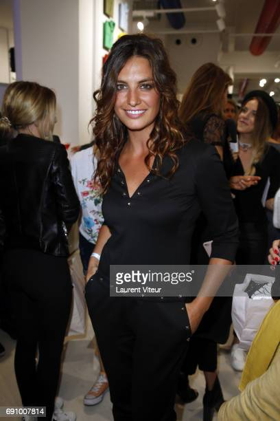 Actress Laetitia Milot attends 'Le Coq Sportif x Guerlain' at Le Coq Sportif Flagship on May 31 2017 in Paris France