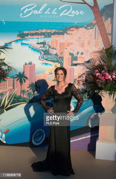 Actress Laetitia Milot attends the Rose Ball 2019 to benefit the Princess Grace Foundation on March 30 2019 in Monaco Monaco