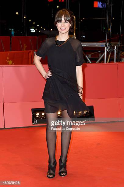 Actress Laia Costa attends the 'Victoria' premiere during the 65th Berlinale International Film Festival at Berlinale Palace on February 7 2015 in...